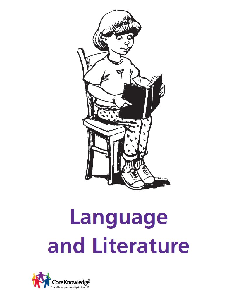 girl reading - language and literature cover image
