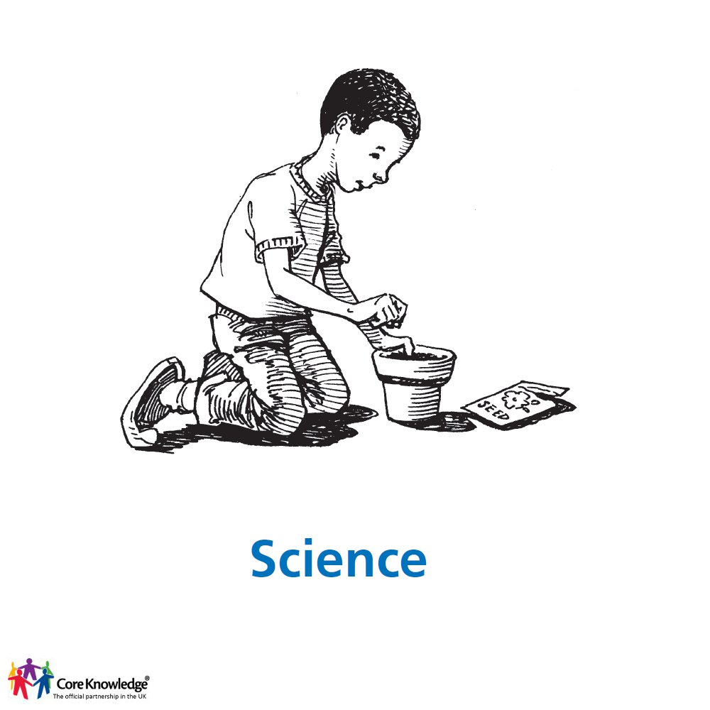 boy potting a plant - science cover image