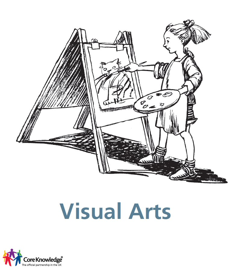 girl painting - visual arts cover image