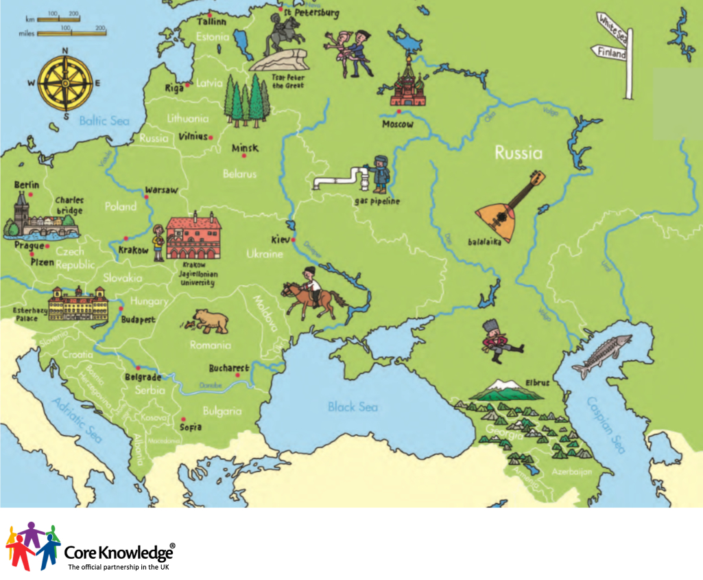 Core Knowledge UK – Europe Map Geography