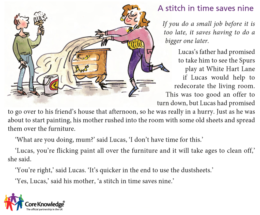 "a stitch in time saves nine short essay Idiomatic essay on a stitch in time saves nine article shared by ""a stitch in times saves nine"" is a well known proverb it is frequently used in conversation it passes on from one hand to another like a current coin  hence we may say that the proverb ""a stitch in time saves nine"" has much truth and wisdom in it."