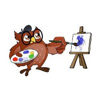 visual arts owl