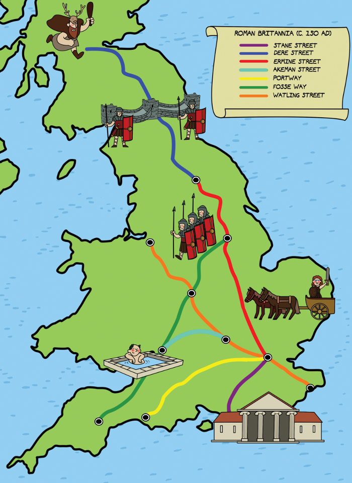 the occupation of britain by the romans 2018-6-27  sketch of the roman occupation of britain from pearce,  the conquest of britain was undertaken by the romans to round off and secure their conquest of gaul.